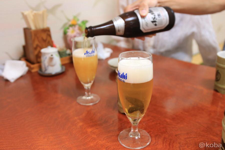 03北海道函館市 さかえ寿し 中道支店 アサヒ瓶ビール