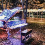 HDR 「ピアノ」 イルミネーション@東京