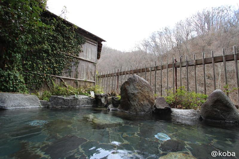09 嵯峨塩館  外風呂2