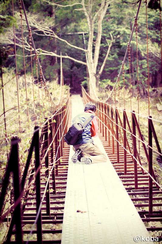 08 山梨県南巨摩郡早川町 つり橋