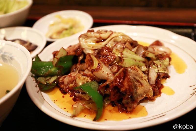 07 新小岩 ランチ 大三元 回鍋肉(ホイコーロー)定食