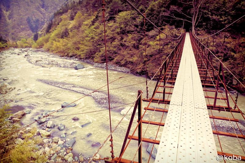 09 山梨県南巨摩郡早川町 つり橋