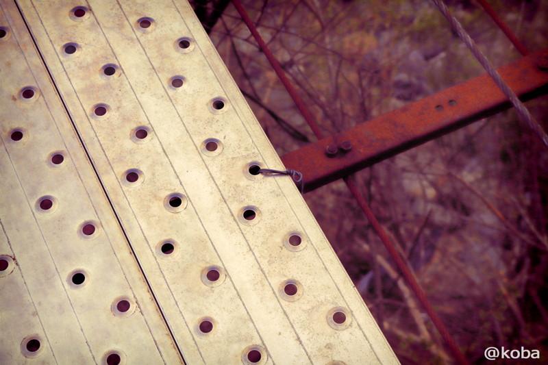 05 山梨県南巨摩郡早川町 つり橋