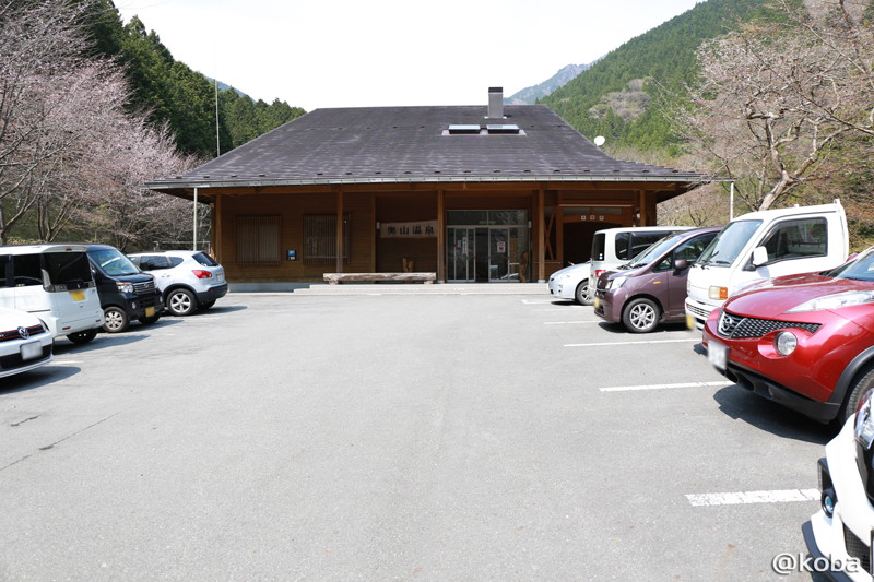 04 国内旅行 山梨 奥山温泉 駐車場