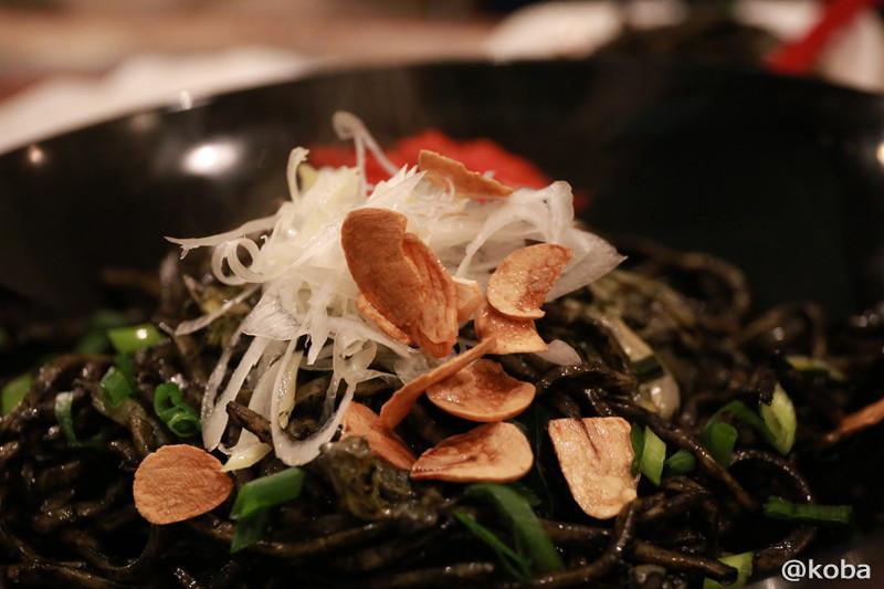 10 四ツ木 ヨツギボシ 沖縄料理 イカスミ焼きそば