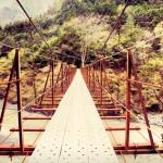 山梨 つり橋