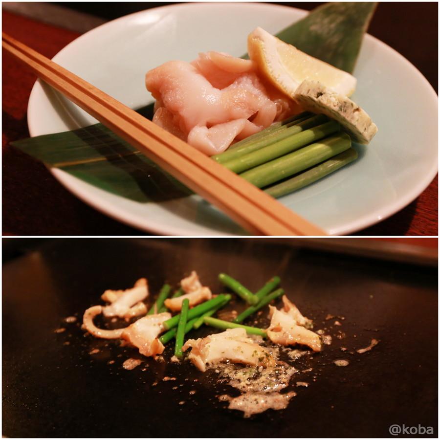 07 つぶ貝とニンニクの芽ガーリックバター焼き