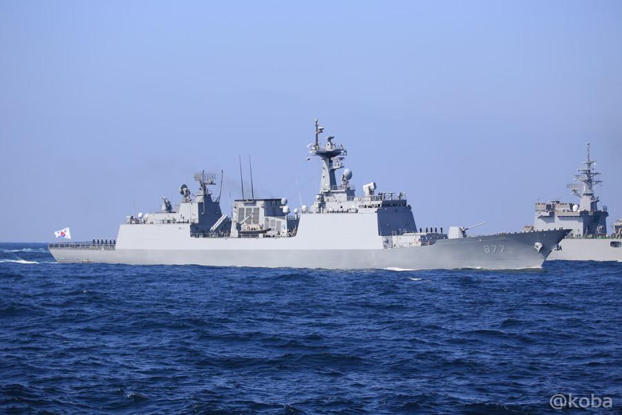 75 観艦式 〈招待国海軍〉 韓国 977 DEAJOYOUNG