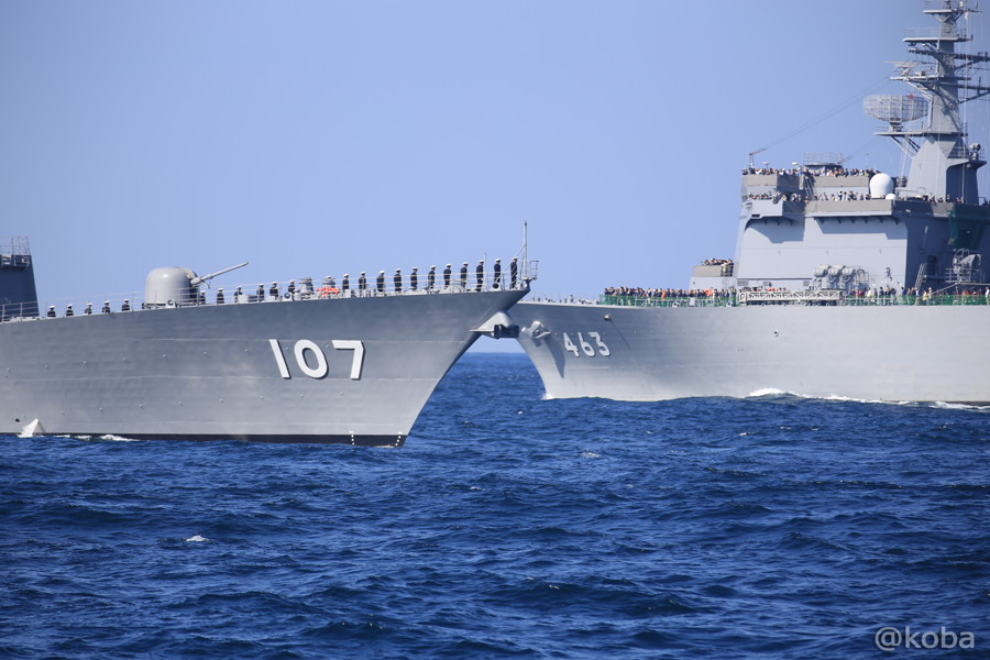 62 観艦式 107いかづち