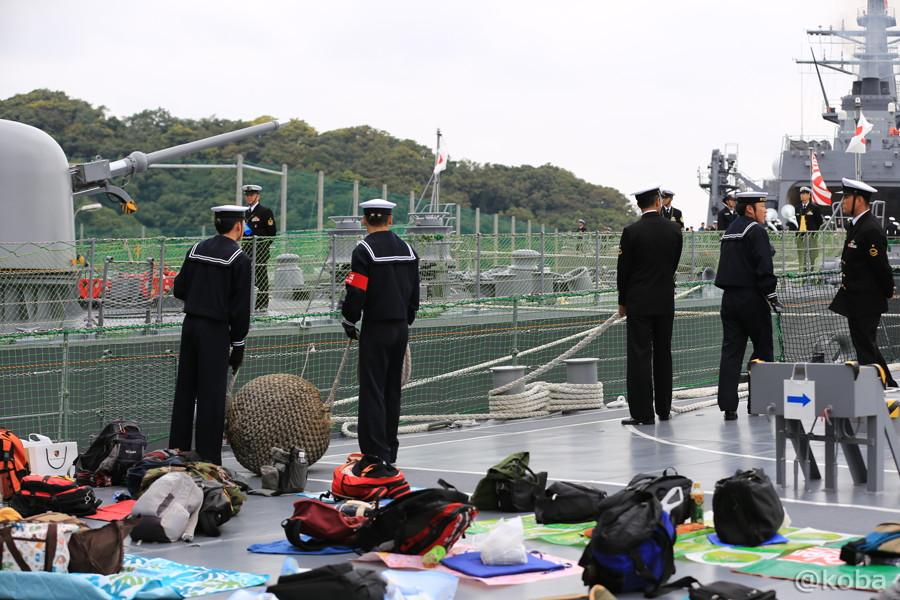 07 観艦式2015 「艦名 とね」出港準備