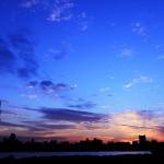 HDR 東京スカイツリー 「夕暮れ時に」 四つ木より