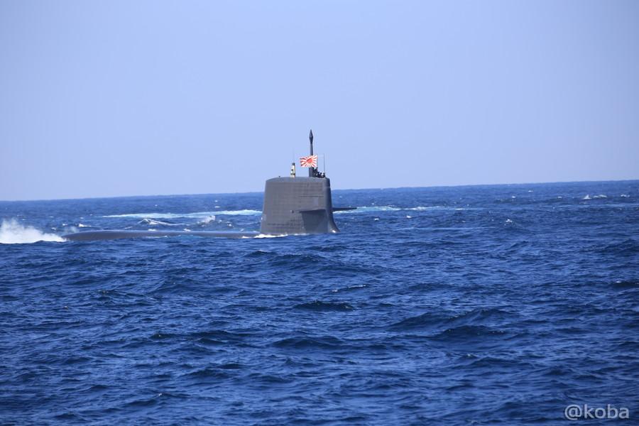 25 観艦式 〈第4群 505ずいりゅう 506こくりゅう 592うずしお〉 潜水艦