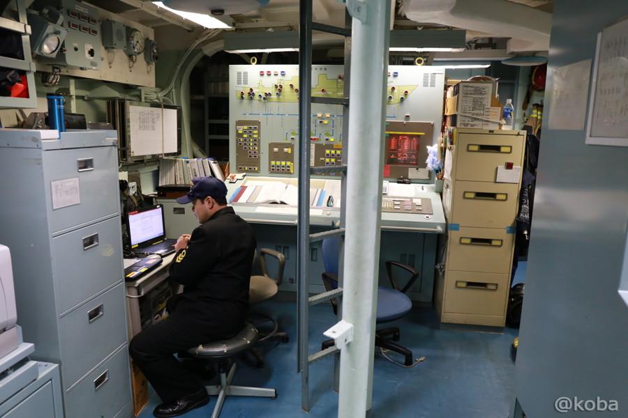 23 観艦式2015 「艦名 とね」操縦室