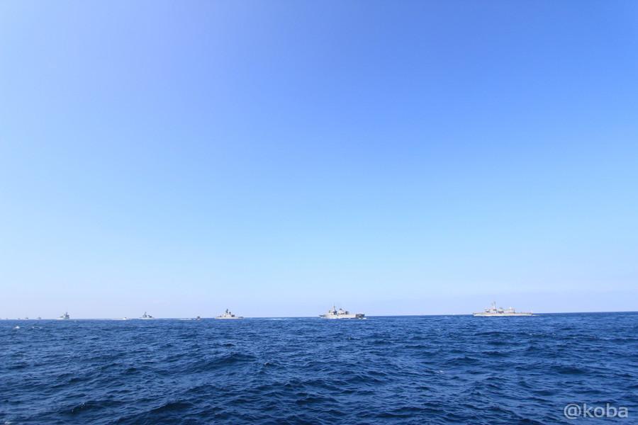 24 観艦式 〈第4群 505ずいりゅう 506こくりゅう 592うずしお〉 潜水艦