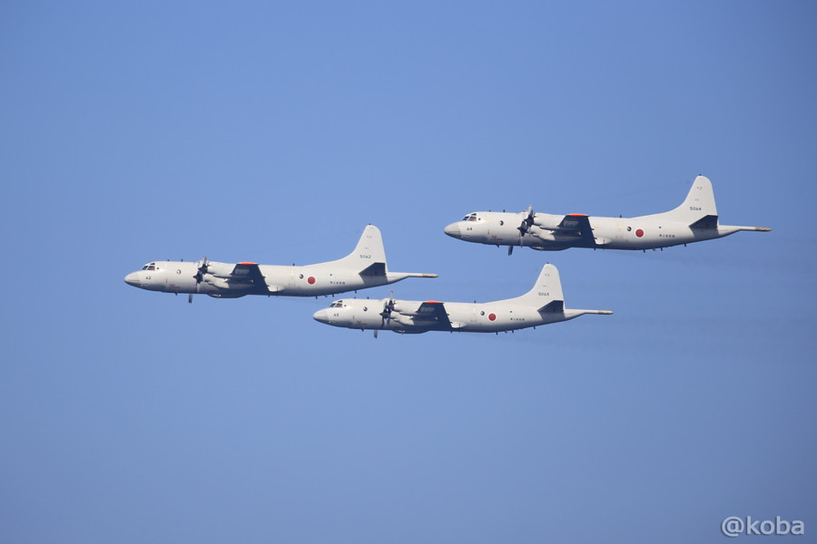 07 観艦式 P-3C