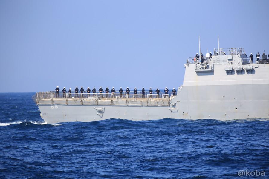 83 観艦式 〈招待国海軍〉 アメリカ 89 MUSTIN