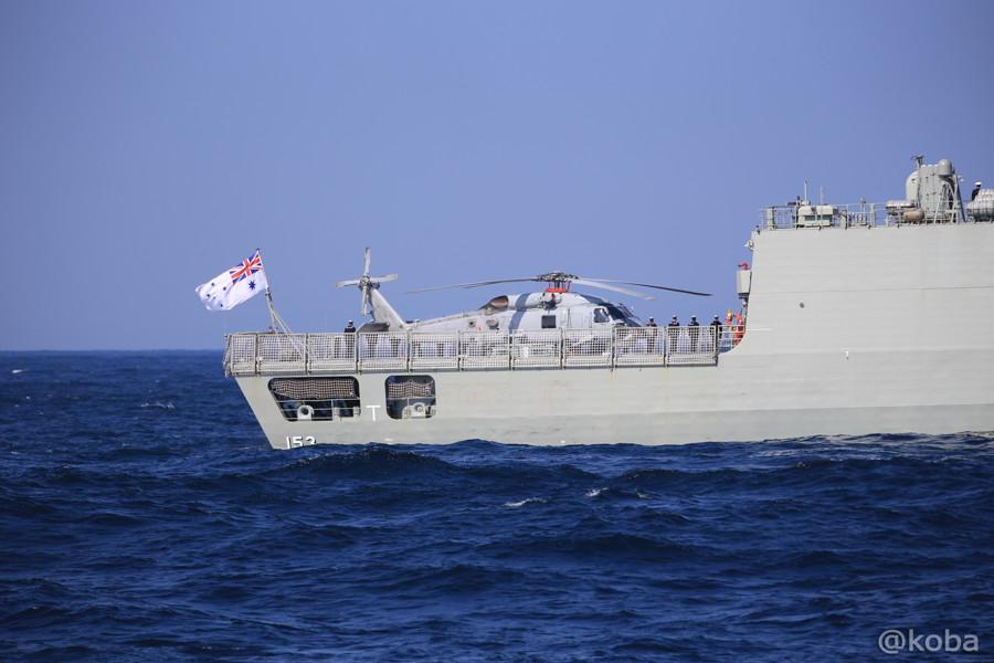 66 観艦式 〈招待国海軍〉 オーストラリア 153 STUART