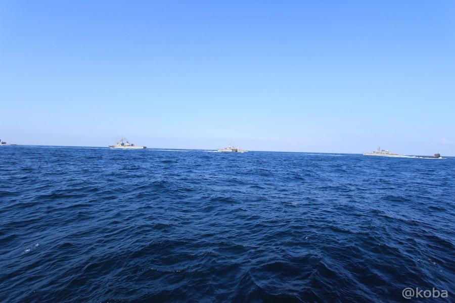 28 観艦式 〈第4群 505ずいりゅう 506こくりゅう 592うずしお〉 潜水艦