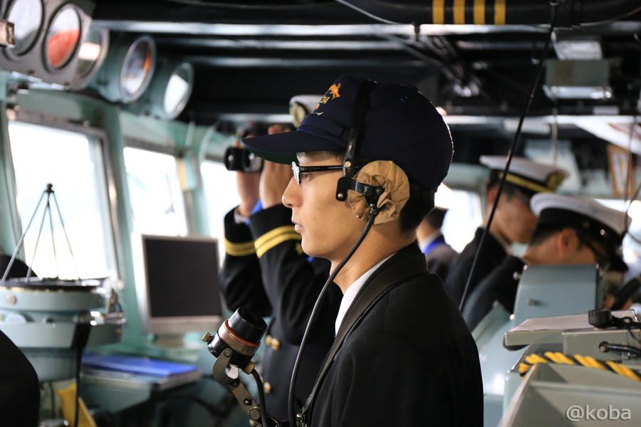 46 観艦式2015 「艦名 とね」操縦室