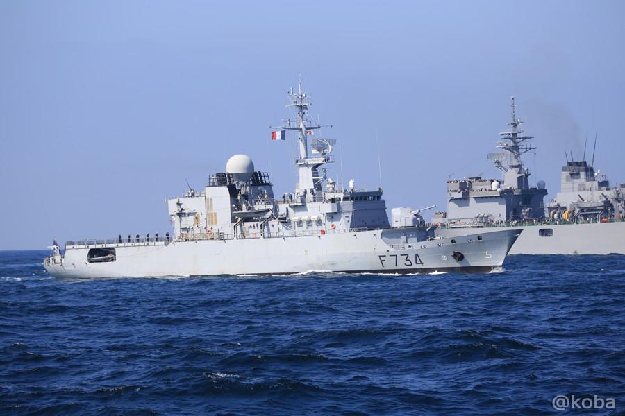 69 観艦式 〈招待国海軍〉 フランス 734 VENDEMIAIRE
