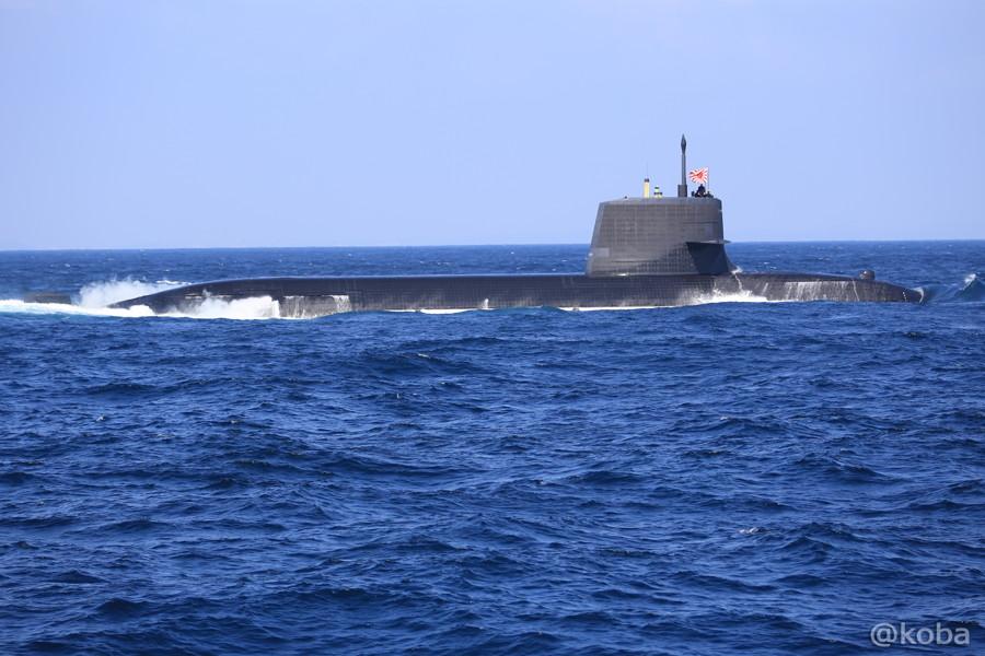 27 観艦式 〈第4群 505ずいりゅう 506こくりゅう 592うずしお〉 潜水艦