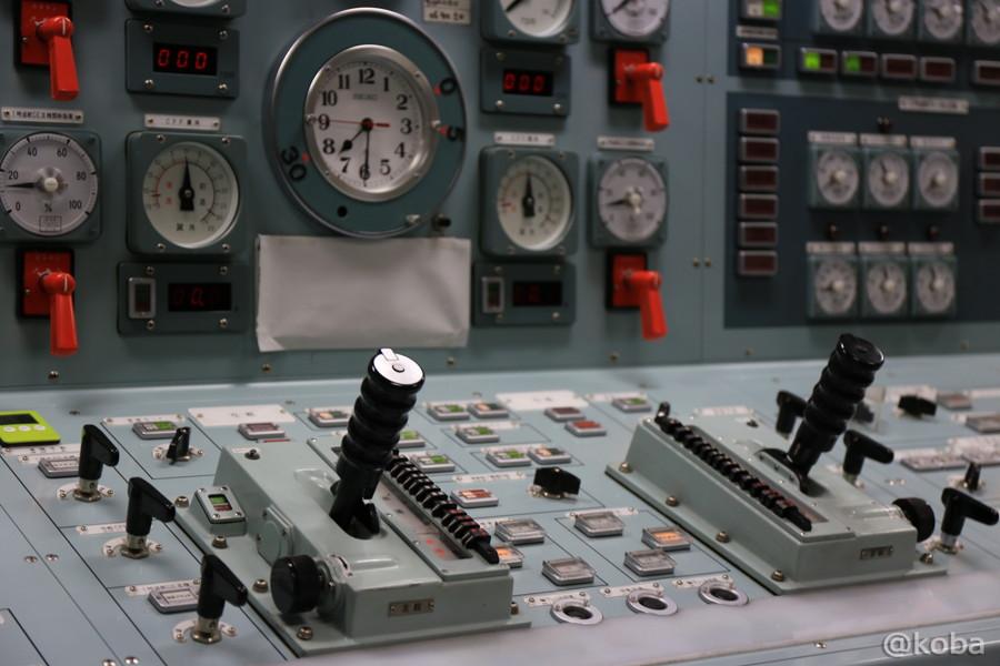 22 観艦式2015 「艦名 とね」操縦室
