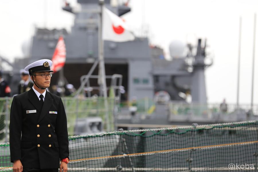 02 観艦式2015 「艦名 とね」出港準備