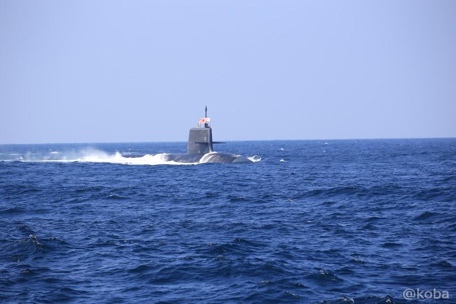 22 観艦式 〈第4群 505ずいりゅう 506こくりゅう 592うずしお〉 潜水艦