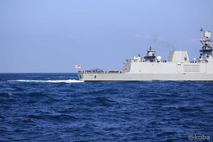 74 観艦式 〈招待国海軍〉 インド SAHYADRI