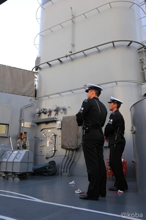 18 観艦式 下船の準備