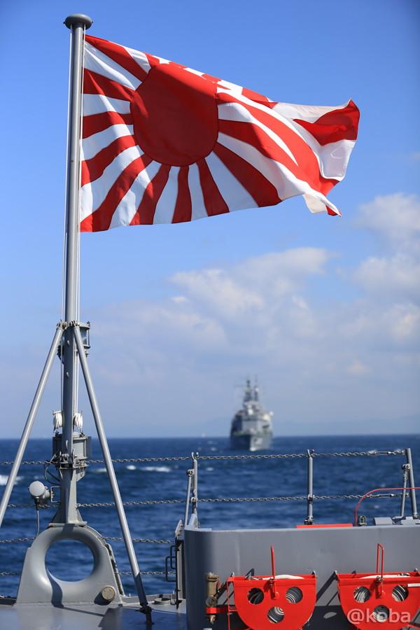 51 観艦式2015 自衛艦旗