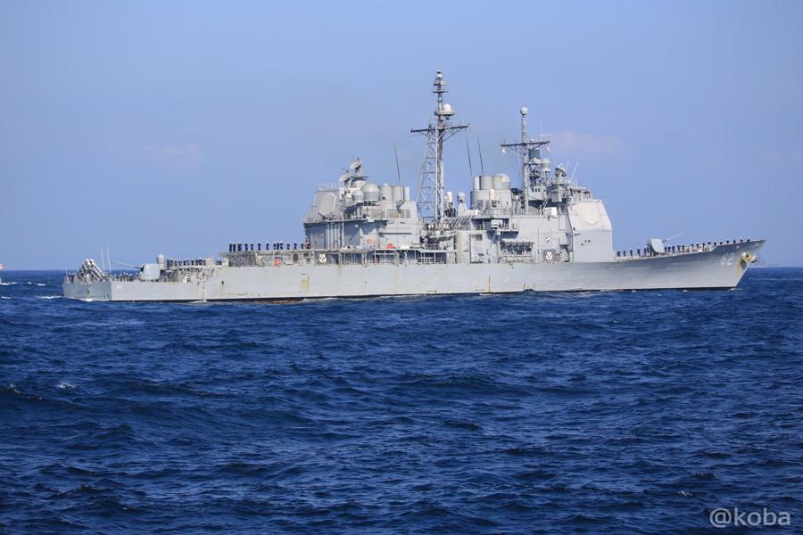 78 観艦式 〈招待国海軍〉 アメリカ 62 CHNCELLORSVILLE