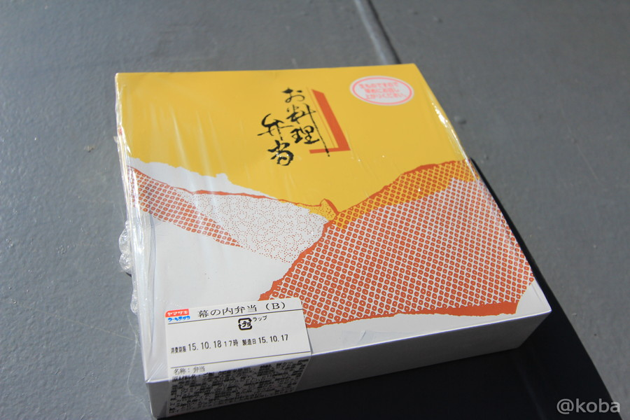 01 観艦式 幕の内弁当B 記念弁当(竹) 800円