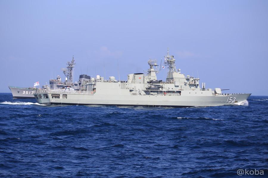 68 観艦式 〈招待国海軍〉 オーストラリア 153 STUART