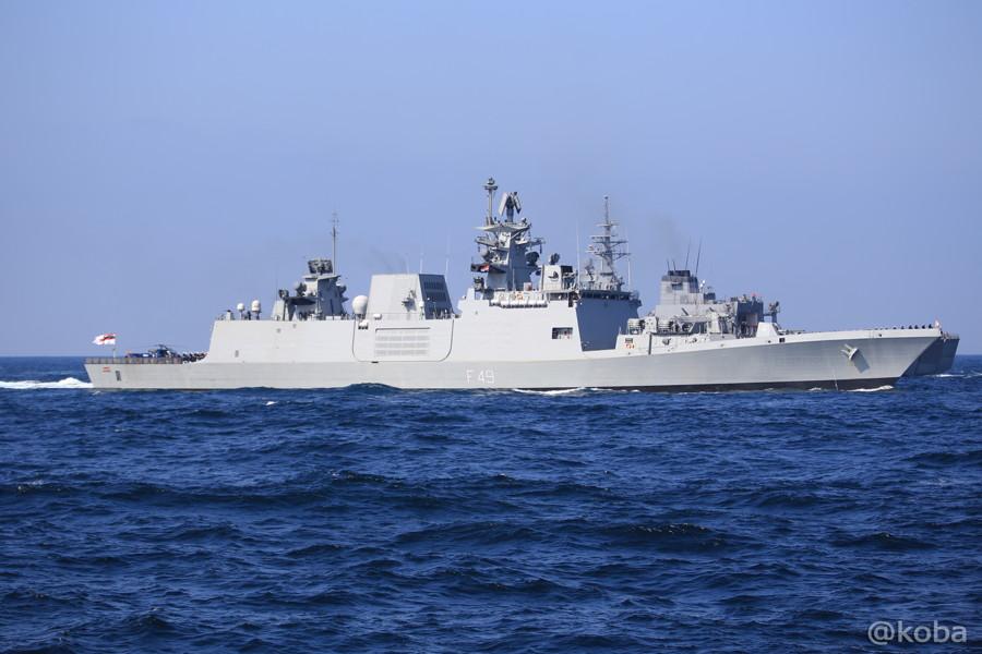 73 観艦式 〈招待国海軍〉 インド SAHYADRI