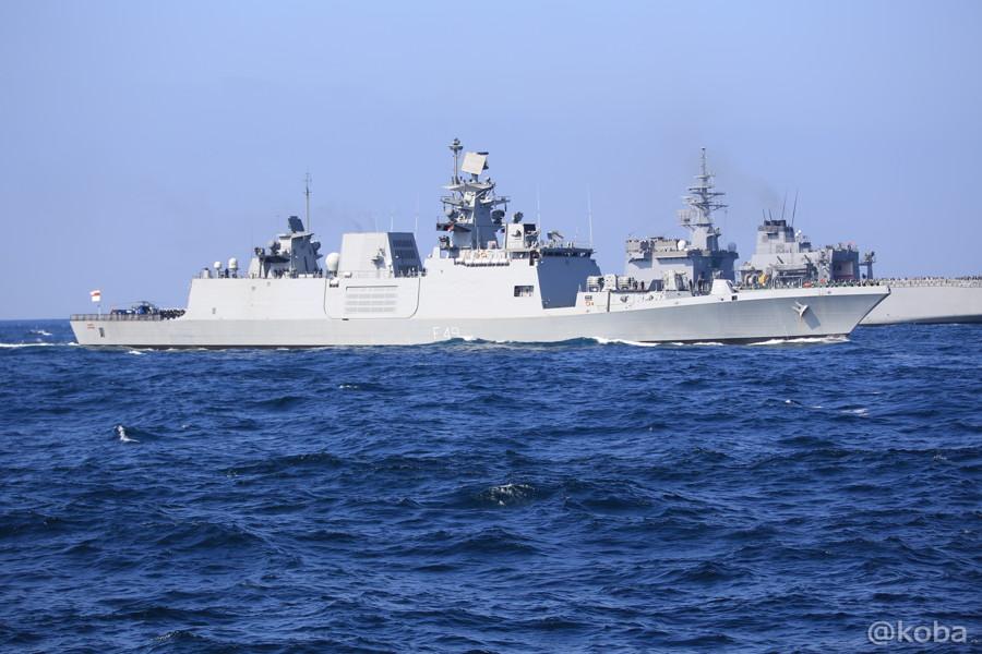 72 観艦式 〈招待国海軍〉 インド SAHYADRI