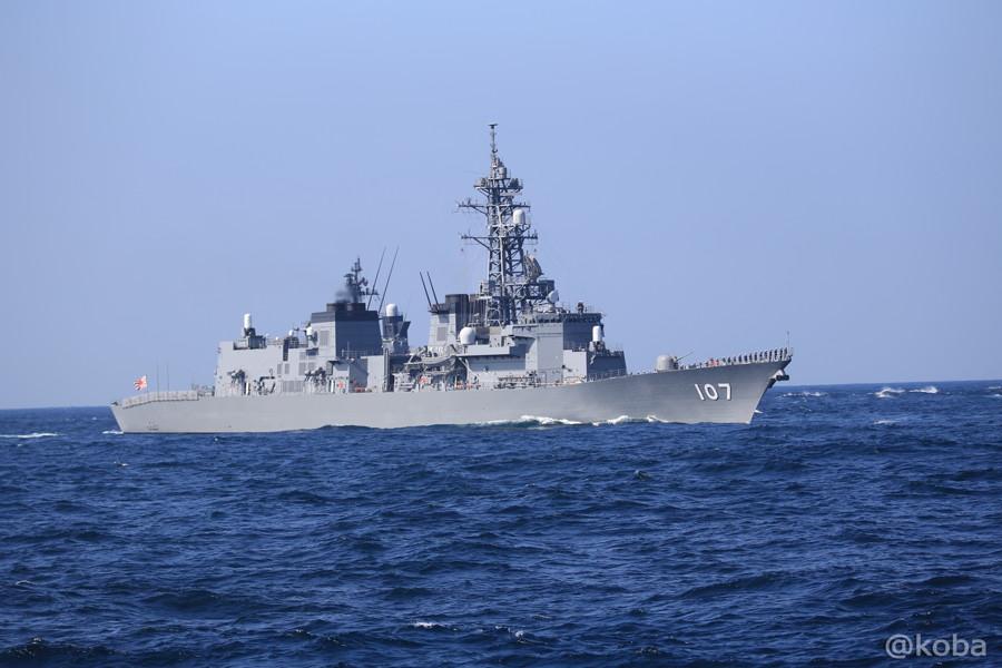 60 観艦式 107いかづち