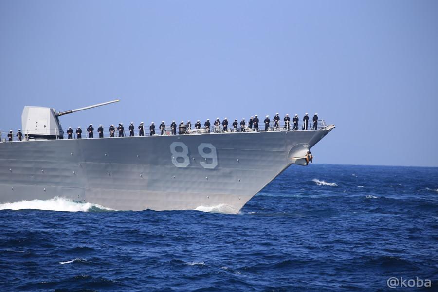 82 観艦式 〈招待国海軍〉 アメリカ 89 MUSTIN
