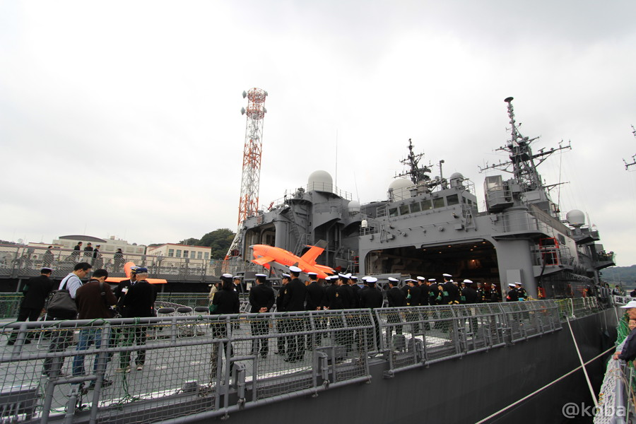01 観艦式2015 「艦名 とね」船越岸壁(横須賀)
