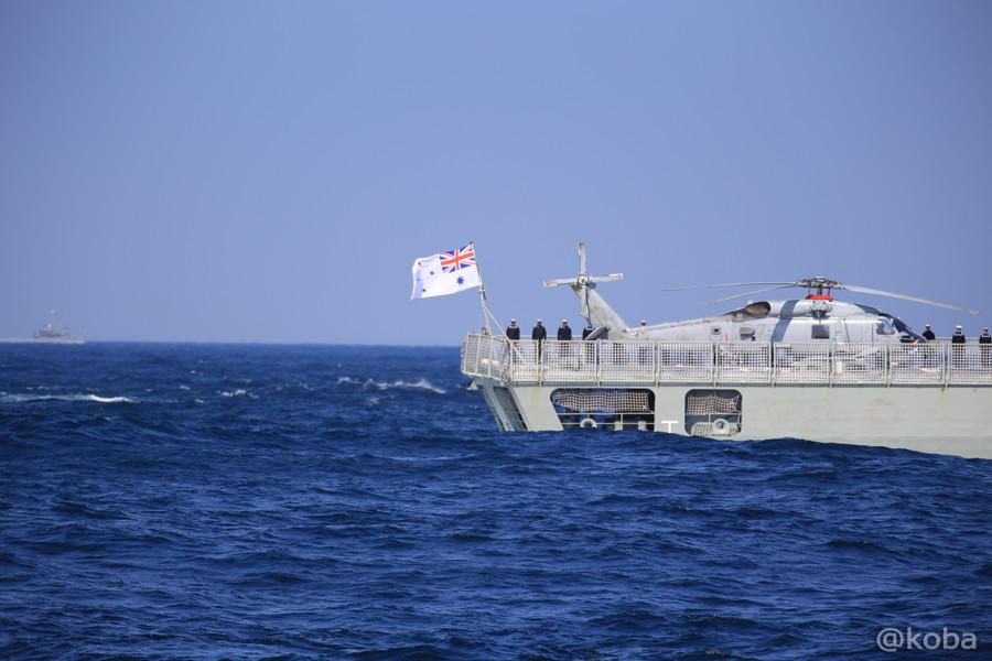 67 観艦式 〈招待国海軍〉 オーストラリア 153 STUART