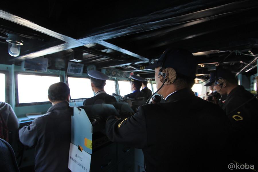 12 観艦式 操縦室