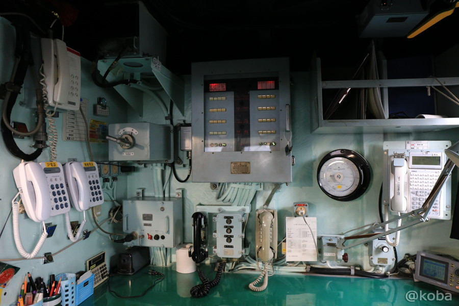 45 観艦式2015 「艦名 とね」操縦室