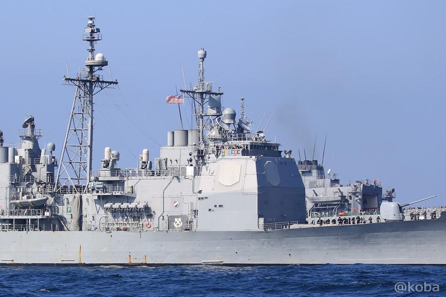 76 観艦式 〈招待国海軍〉 アメリカ 62 CHNCELLORSVILLE