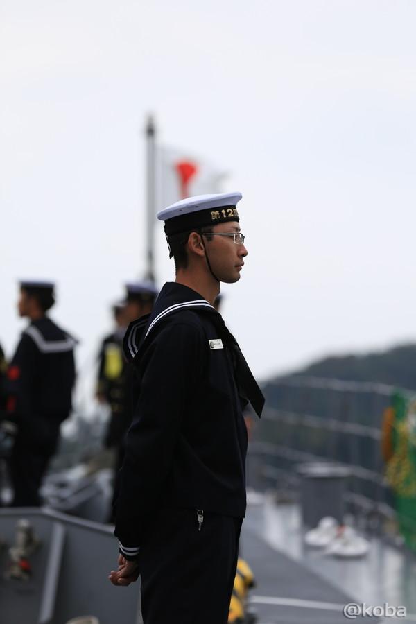 04 観艦式2015 「艦名 とね」出港準備