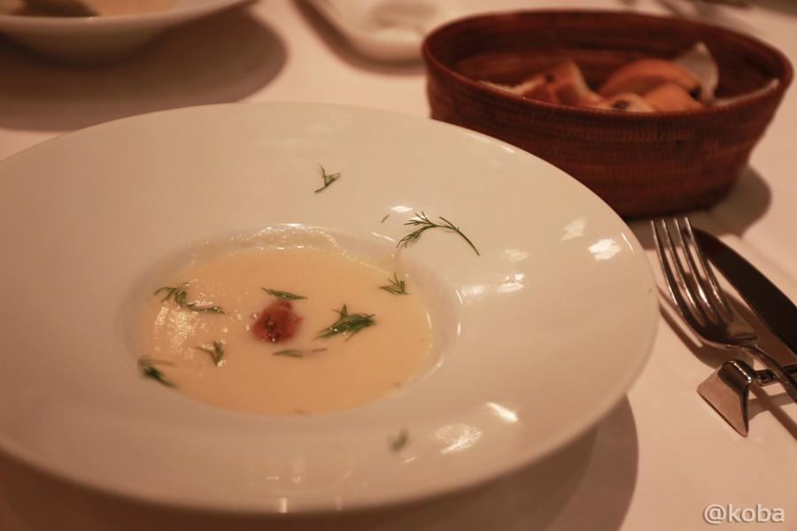 03前菜の盛り合わせ スープ