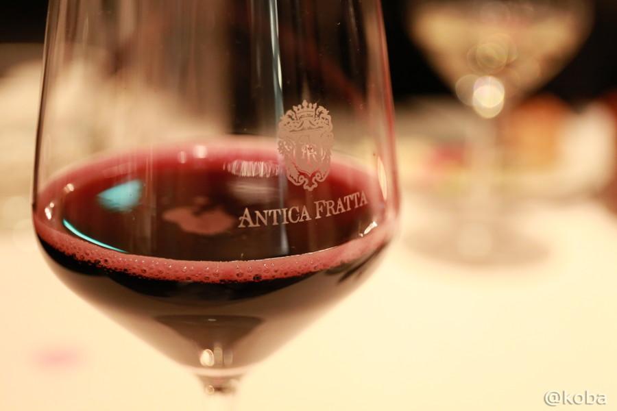 01浜松町 イタリアン 赤ワイン