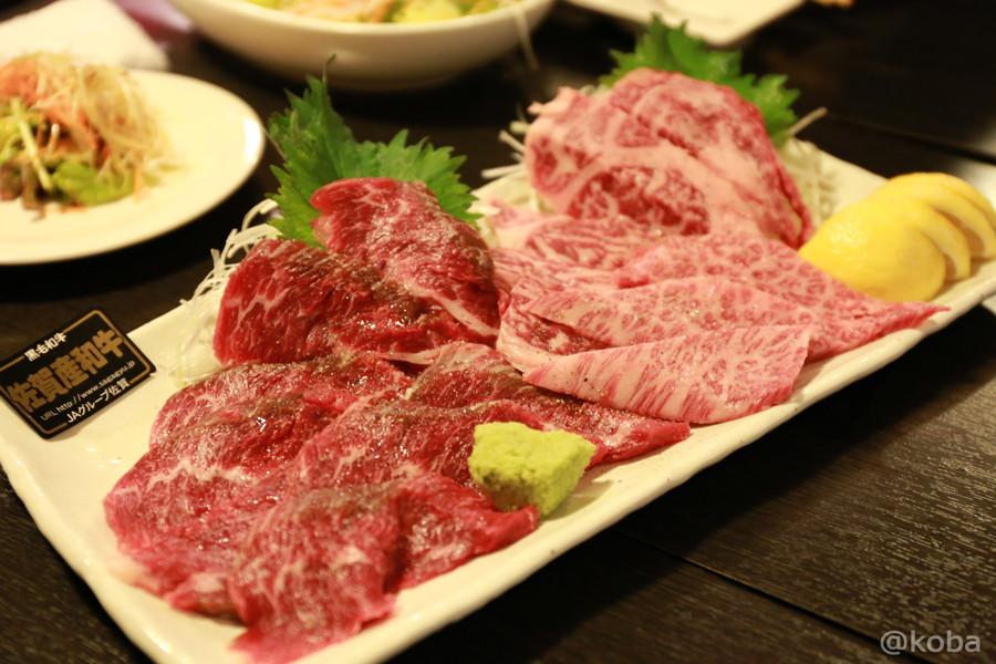 05小岩 焼肉市場 佐賀牛リブロース ササミ