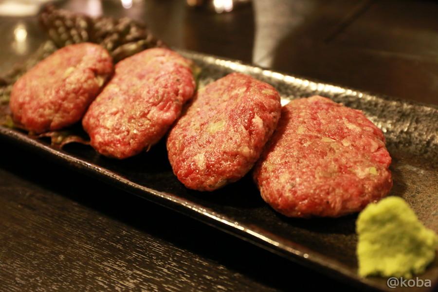 11小岩 焼肉市場 2号店 プレミアムハンバーグ