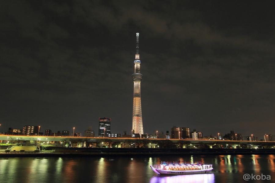 02東京スカイツリー 桜橋「ブラウンショコラ」屋形船
