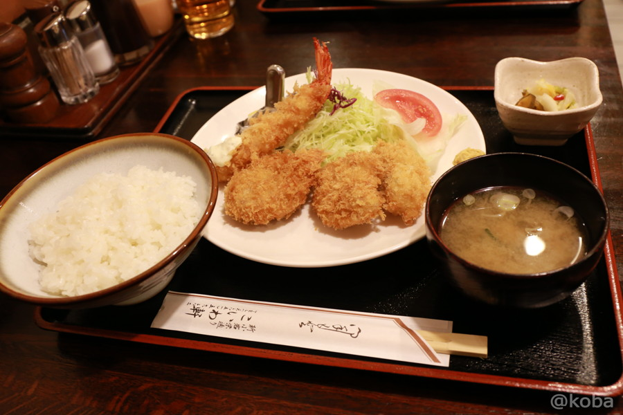 06海老フライ ヒレカツ定食